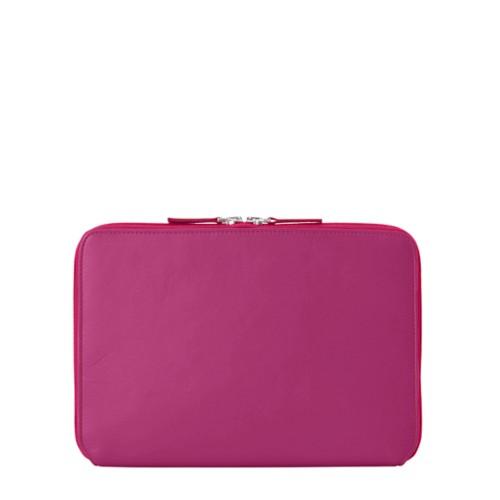 Reißverschlusshülle Für Das iPad Pro 11 Zoll - Fuchsia  - Glattleder