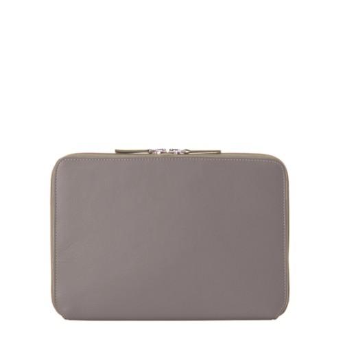 "iPad Pro 11"" ファスナー付きケース - Light Taupe - Smooth Leather"