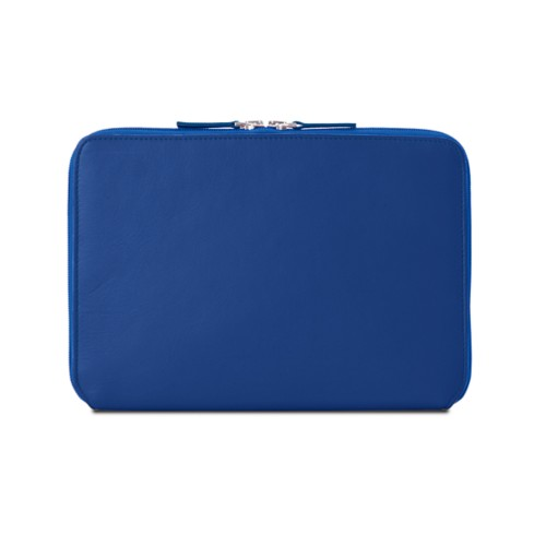 Zip Around Sleeve for iPad Air - Royal Blue - Smooth Leather