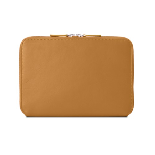 Zip Around Sleeve for iPad Air - Natural - Smooth Leather