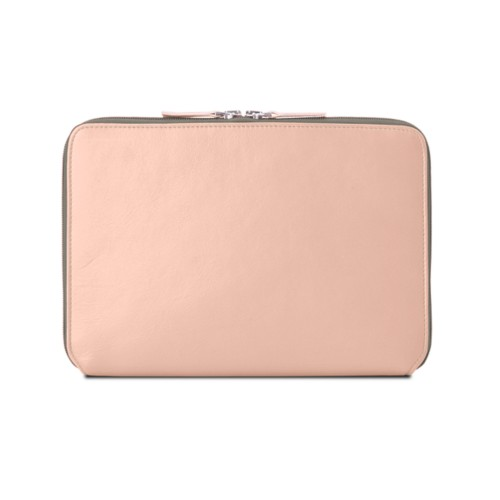 Zip Around Sleeve for iPad Air - Nude - Smooth Leather