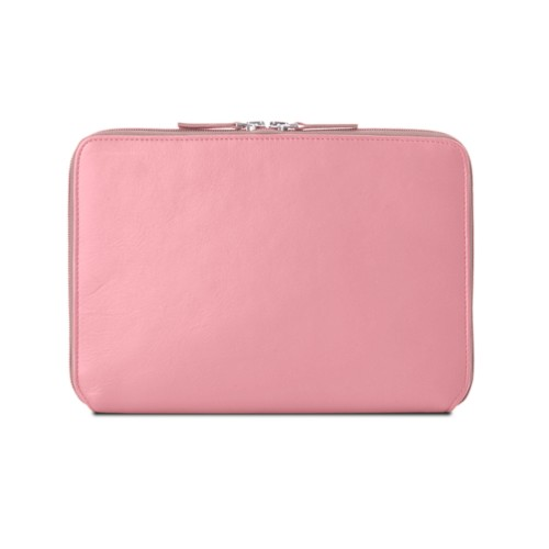 Zip Around Sleeve for iPad Air - Pink - Smooth Leather