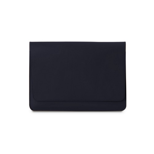 Tasche mit Klappe iPad 10.5 - Königsblau  - Glattleder