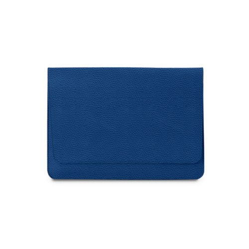 """Envelope Pouch iPad Pro 11"""" 2018 - Royal Blue - Granulated Leather"""
