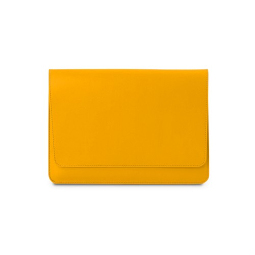 "Envelope Pouch iPad Pro 11"" 2018 - Sun Yellow - Smooth Leather"