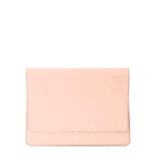 """エンべロップポーチ iPad Pro 11"""" 2018 - Nude - Smooth Leather"""