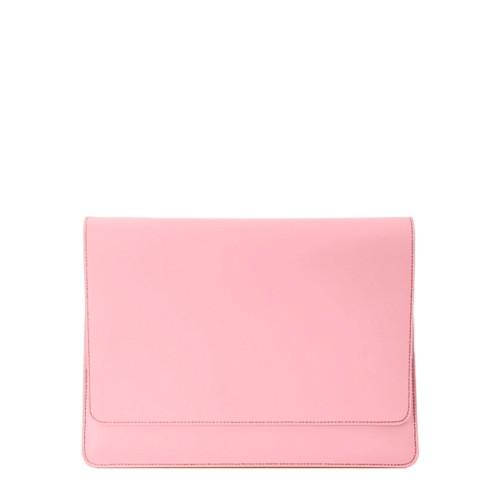 """エンべロップポーチ iPad Pro 11"""" 2018 - Pink - Smooth Leather"""