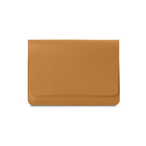 iPad Air Pouch Folder - Natural - Smooth Leather