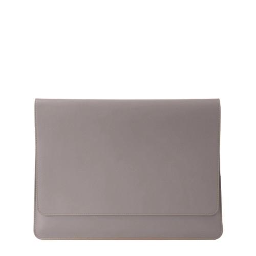 iPad Air ポーチホルダー - Light Taupe - Smooth Leather