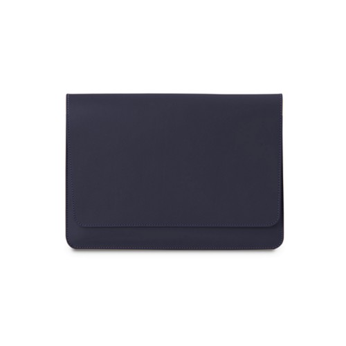 iPad Air Pouch Folder - Purple - Smooth Leather