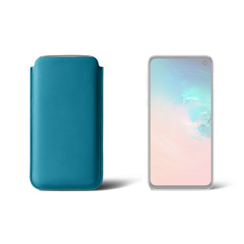 Classic Case for Samsung Galaxy S10e - Turquoise - Smooth Leather