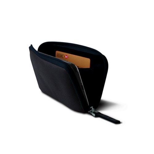 Zipped pouch for iPhone X