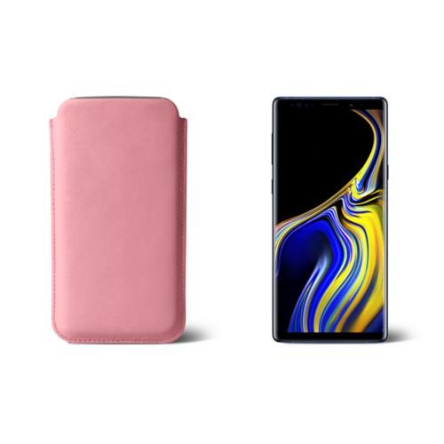Funda para Samsung Galaxy Note 9 - Rosa - Piel Liso