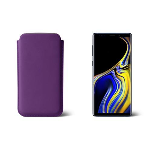 Sleeve voor Samsung Galaxy Note 9 - Lavendel - Soepel Leer