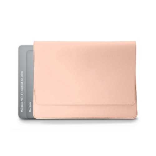 "Folder for Apple devices (max. 13"") - Nude - Smooth Leather"