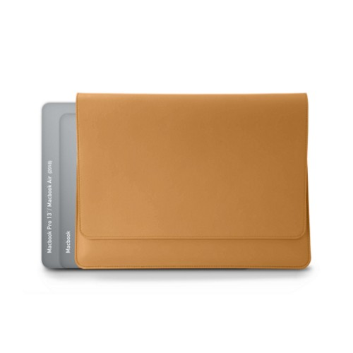 Envelope Pouch - MacBook Air 2018 - Natural - Smooth Leather