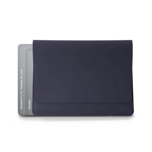 Funda tipo sobre para MacBook Air 2018 - Violeta - Piel Liso