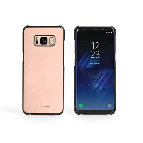 Back Cover Samsung Galaxy S8+ - Nude - Smooth Leather