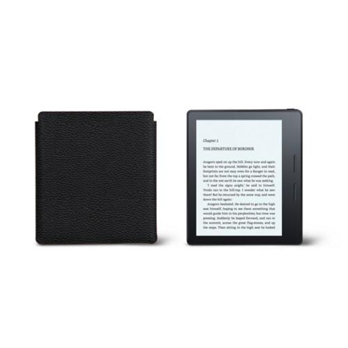 Étui Kindle Oasis 2017 - Noir - Cuir Grainé