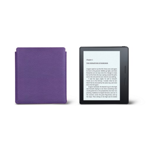 Kindle Oasis Case 2017 - Lavender - Granulated Leather