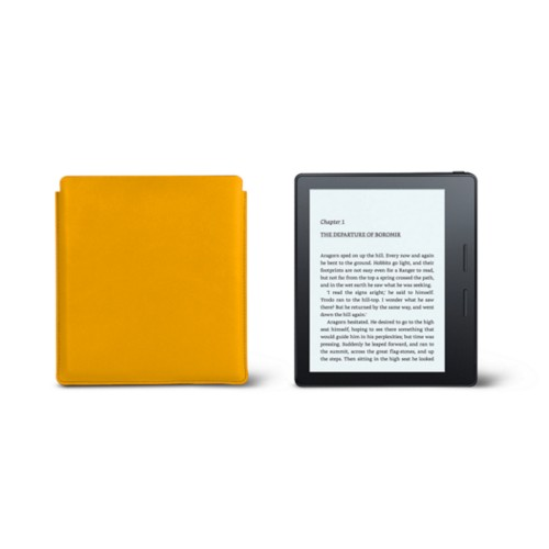 Kindle Oasis Case 2017 - Sun Yellow - Smooth Leather