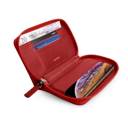 Custodia a portafoglio per iPhone XS Max
