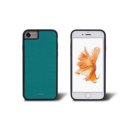 iPhone 6 suoja - Valtameren Vihreä - Vuohennahka