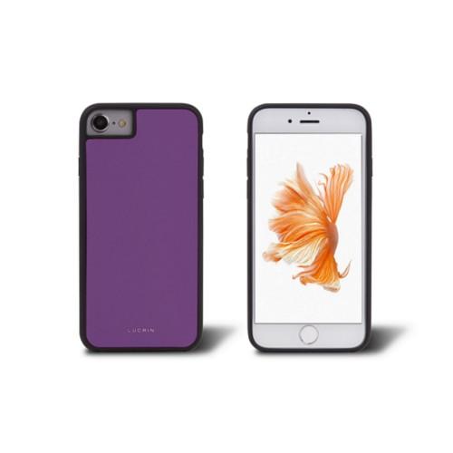 iPhone 6 suoja - Laventeli - Sileä nahka
