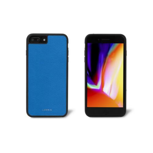 Carcasa para iPhone 8 Plus - Cielo Azul  - Piel de Cabra