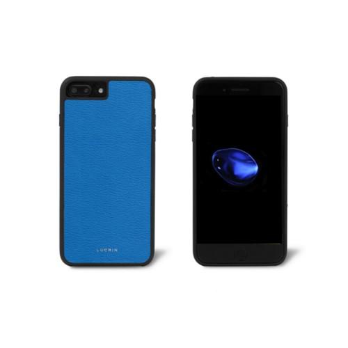 Carcasa para iPhone 7 Plus - Cielo Azul  - Piel de Cabra