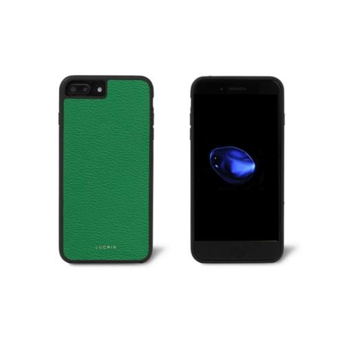 Iphone-7-Plus-Hülle - Hellgrün - Ziegenleder