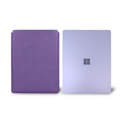 Surface Laptop 3 Sleeve - Lavender - Granulated Leather