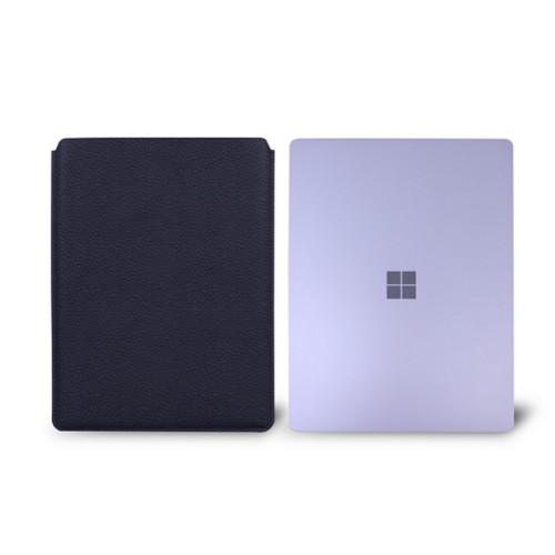 Surface Laptop Sleeve - Purple - Granulated Leather