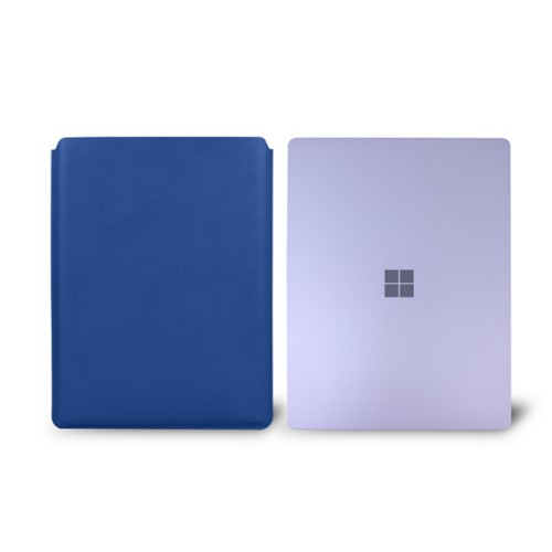 Surface Laptop Sleeve - Royal Blue - Smooth Leather