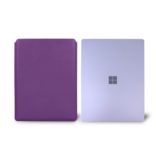 Surface Laptop 3 Sleeve - Lavender - Smooth Leather