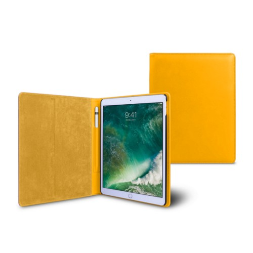 10.5 inch iPad Pro Case - Sun Yellow - Smooth Leather