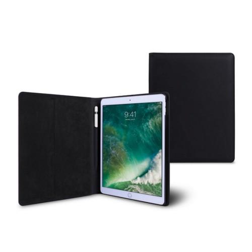 10,5 Zoll iPad Pro-Hülle - Schwarz - Glattleder