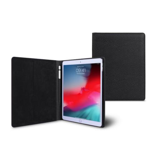 Coque iPad Air - Noir - Cuir Grainé