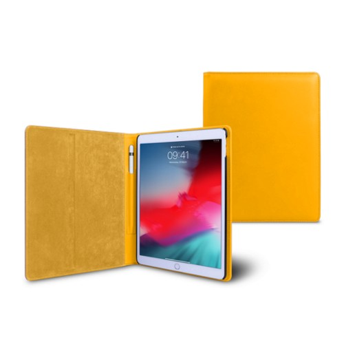 iPad Air フォルダーケース - Sun Yellow - Smooth Leather
