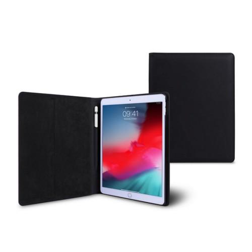 Coque iPad Air - Noir - Cuir Lisse