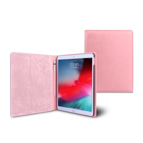 iPad Air フォルダーケース - Pink - Smooth Leather