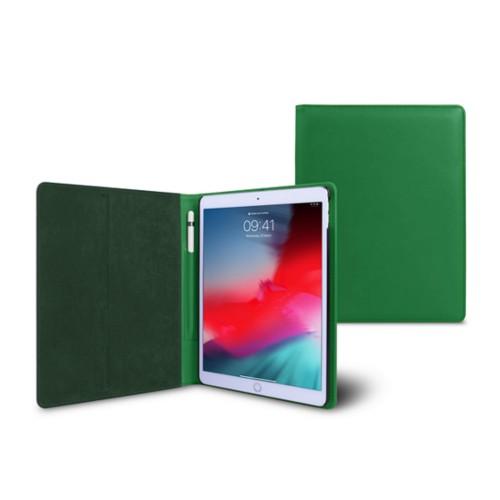 Funda tipo libro para iPad Air - Verde claro - Piel Liso