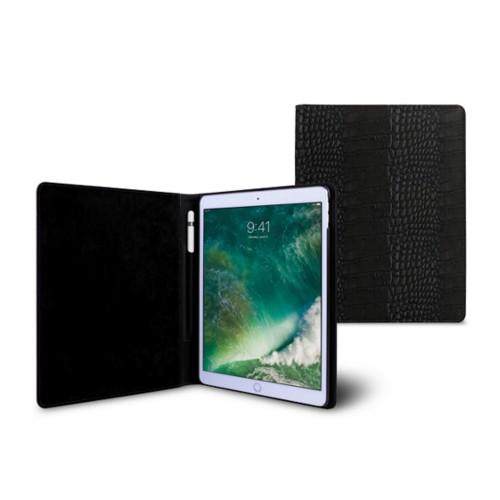 Funda para iPad de 9.7 pulgadas - Negro - Piel Coco Grabado