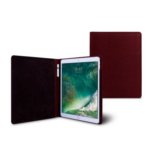 Funda para iPad de 9.7 pulgadas - Bordeos - Piel Grano