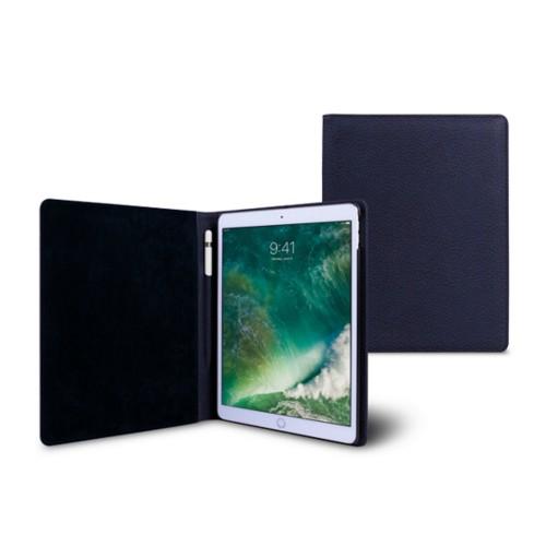 Funda para iPad de 9.7 pulgadas - Azul marino  - Piel Grano