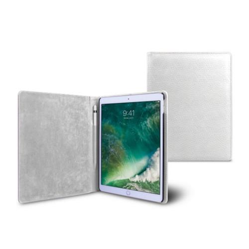 Funda para iPad de 9.7 pulgadas - Blanco - Piel Grano