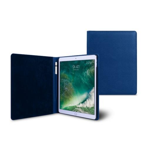 Funda para iPad de 9.7 pulgadas - Cielo Azul  - Piel Grano