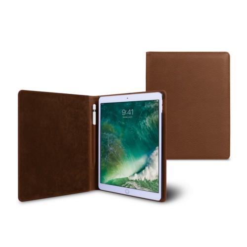 Funda para iPad de 9.7 pulgadas - Coñac  - Piel Grano
