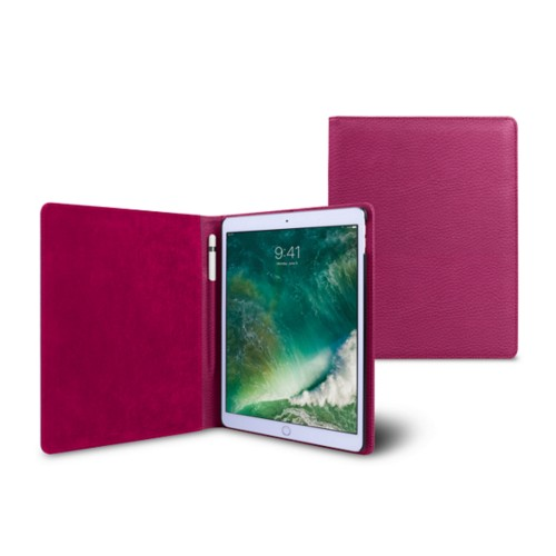 Funda para iPad de 9.7 pulgadas - Fuchsia  - Piel Grano