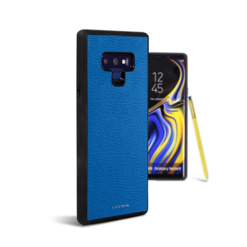 Samsung Galaxy Note 9 Cover - Royal Blue - Goat Leather